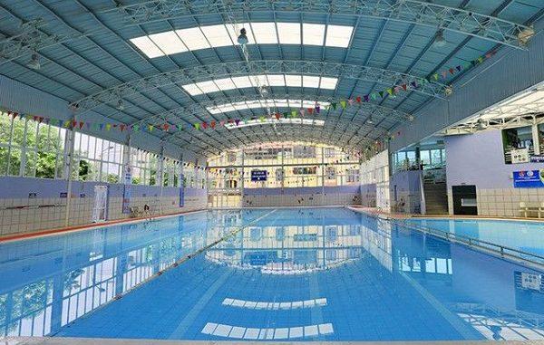 bể bơi tại Ba Đình