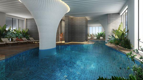 Bể bơi tại Lê Văn Lương