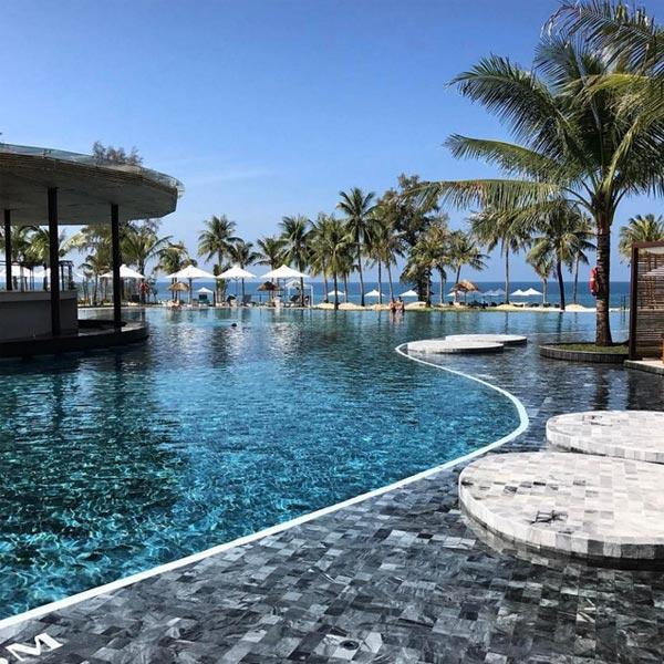 Bể bơi vô cực tại Phú Quốc